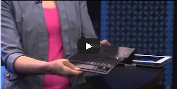 Zagg Pocket Keyboard Demo-Wireless, Portable, Stand