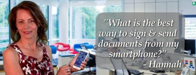 Tech Tip Today - Sign and send PDFS from smartphone