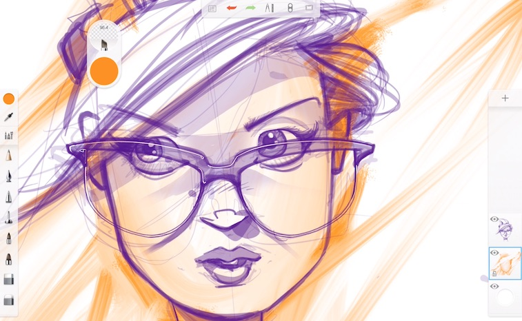 Sketchbook App Review & Demo