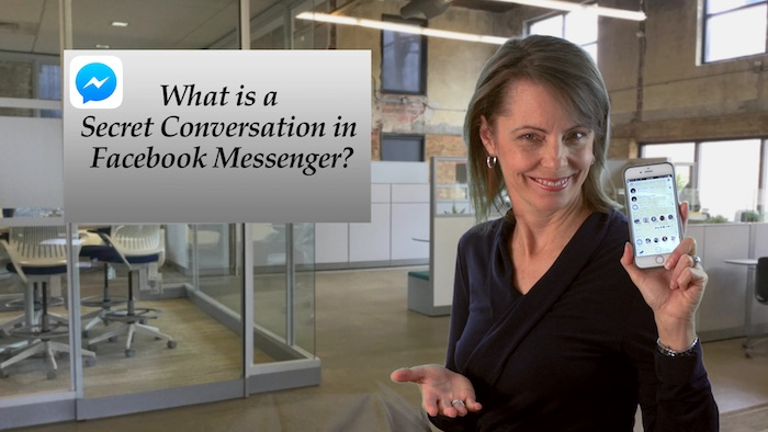Tech Tip Today - Mar 19 - Messenger Secret Conversations