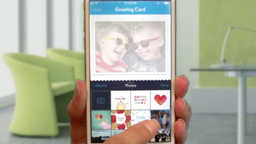 Touchnote App Mother's Day Send Personal Card