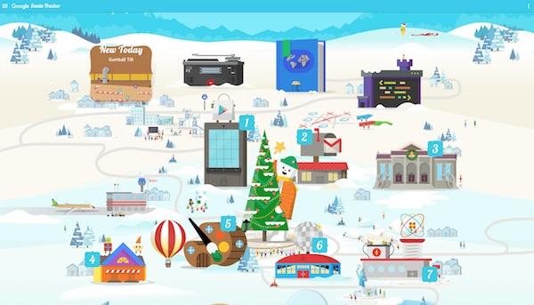Google Santa Tracker Screen Shot