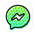Messenger kids app icon