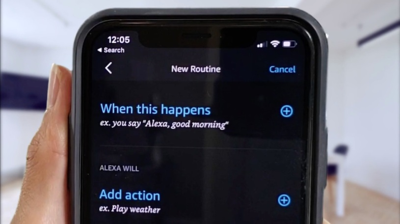 Alexa Routines How to automate multiple requests to a single command