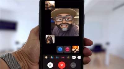 new feature - group facetime with 32 people